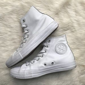 Converse • White Leather 4.5M/6.5 WMN's